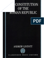 Andrew Lintott the Constitution of the Roman Republic