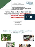 3 Politica Nacional de Desarrollo de Rh Lic Elias