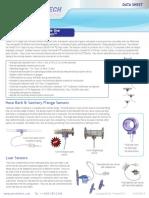 Pressure Sensors Spec Sheet