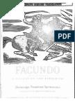Domingo F Sarmiento - Facundo