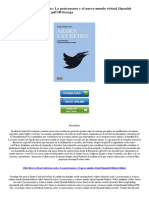 Download Arden Las Redes La Postcensura y El Nuevo Mundo Virtual Spanish Edition Download of eBook PDF IDbeavga