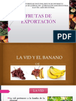 Frutas de Exportación PERÚ