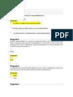 Examen Parcial Derecho administrativo II