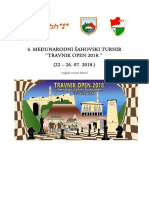 Raspis Travnik Open 2018