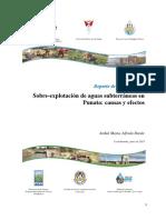 2015 Reporte Sobre Explotacion Aguas Subterraneas Punata