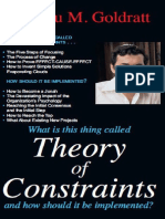 Theory of Constrains