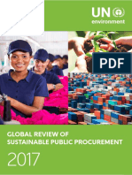 UNEP - GlobalReview Sust Procurement