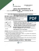 081 Analista de de Suporte de Informatica Jr Governanca de Ti