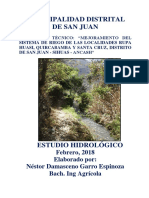 ESTUDIO HIDROLOGICO (BY NESTOR G.E)