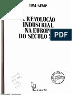 KEMP, Revolução Industrial