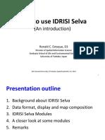 How to Use IDRISI Selva