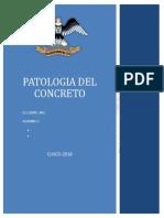 Monografia de Patologias y Reparacion de Estructuras