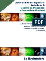 Laevaluacion Unprocesodedialogoymejora 090601175228 Phpapp01