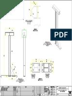 Montaje de Columna de Linea de Vida-model