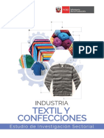 Ministerio de Produccion Industrias Textil Produccion