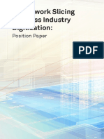 5G Network Slicing for Cross Industry Digitization Position Paper Digital