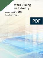 5G Network Slicing for Cross Industry Digitization Position Paper Digital
