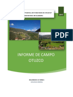Informe de Otuzco
