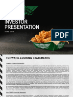 WING Wingstop Investor presentation June 2018