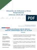 Informe Influenza y Virus RespiratoriosSE14