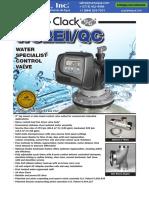 Valvula de Control Clack Serie Ws2ei Qc