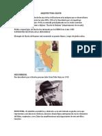 ARQUITECTURA CHAVÍN