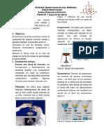 Tecnica de Separacion de Mezclas. PDF