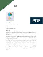 Manual de CSS