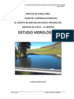 Estudio Hidrológico Suyaridaa