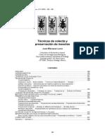 Técnicas de Colecta y Preservacion de Insectos