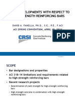 Recent Developments With Respect to High-Strength Reinforcing Bars_Fanella