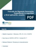 Firewalls Sgt Generacion a Nivel Aplic Usr y Contenido