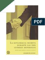 De Launay Jacques - La Diplomacia Secreta Durante Las Dos Guerras Mundiales