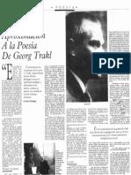 Aproximación a la poesía de Georg Trakl