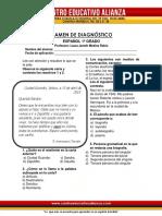 ESPAÑOL 1º Diagnóstico 17-18