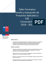Ppt Taller Fae 2019 Version Rbe