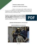 FERNANDO CORREA ANTUNEZ, escultor en la semana santa de Albox