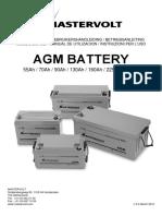 Ficha Técnica Batería Mastervolt AGM100317