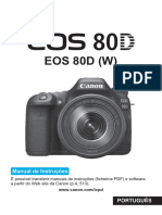 Manual  da Canon EOS 80D