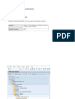 Manual Creación Dato Maestro de Servicios
