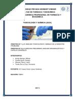 1er informe toxicologia
