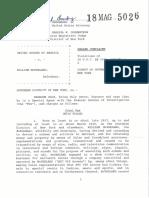 McFarland Complaint - 18 Mag 5026