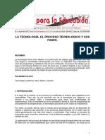 Tecnologia y Su Proceso