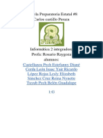 Reporte de Informática 2.0