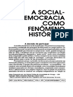 A Social Democracia Como Fenomeno Historico