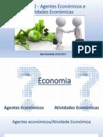 Agentes Economicos e atividades Economicas