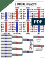 Fixture Rusia 2018 - FINAL