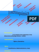 2.- Estereoquímica