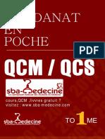Residanat en Poche -Tome i - Qcm - Qcs