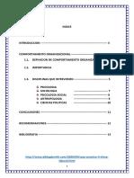 Disciplinas Del Comportamiento Organuizacional